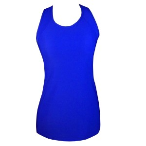 Rhapso Designs TK26 X Womens Training Tank Top - Electric Blue