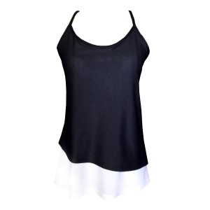 Rhapso Designs Asymmetrical Womens Training Tank Top