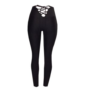 Rhapso Designs Lace Up Back Womens Training Tights