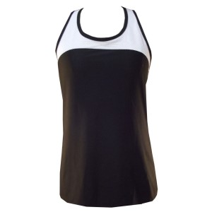 Rhapso Designs Contrast Mesh Womens Training Tank Top