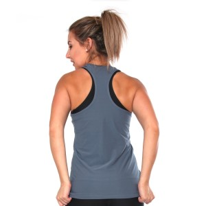 Rhapso Designs Mesh Training Tank Top - Gunmetal Grey